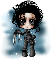 Edward Scissorhands by Bloody-Shroud