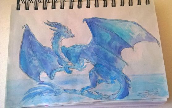 Blue dragon (bec. I don't have an idea for a title by CynyJoyce