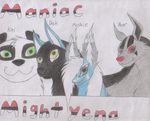 Maniac Mightyena Banner by moshie9956