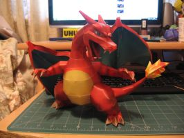 Charizard PapercraftVersion 2 by sazmullium