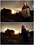 The Accordionist by shayne-gray
