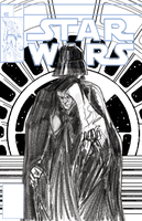 STAR WARS Mock Marvel Cover #2 Digital Pencils by Hodges-Art