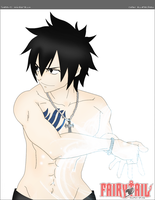 FAIRY TAIL - Gray Fullbuster by kuelachan