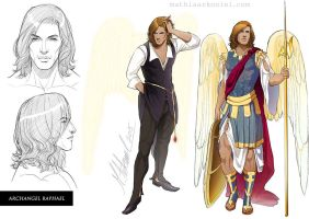 original: Archangel Raphael by MathiaArkoniel