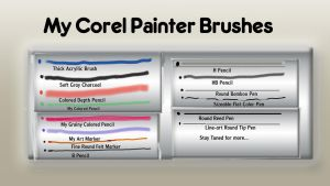 Corel Painter Brushes Part 2 by Eric-A-Allen