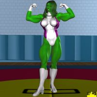 She-Hulk 04 by hotrod5