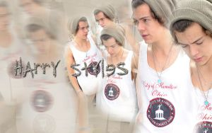 Wallpaper Harry Styles by rahrahmonster