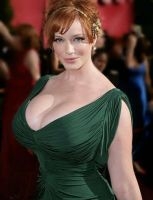 not enoughChristina Hendricks by cribinbic