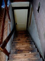 Attic Stairs 2 by samaya-stock