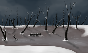 Frozen Swamp for ToD by kristhasirah