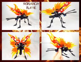 Bionicle MOC: Monarch Flame by 3rdeye88