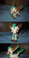 R9S1 Leafeon by ScarletPianoWires