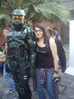 Me And Master Chief by BrainLessGirl
