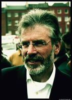 Gerry Adams by McCabe