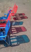Old School Lawn Chairs by boxcamera
