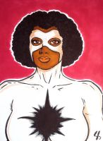 Captain Marvel (Monica Rambeau) by seanpatrick76