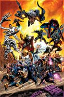 X-Men 29 cover by GURU-eFX