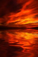 Fiery Reflections by MuttleyMcFester