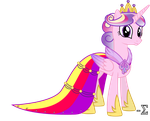 Princess Cadance's Gala Dress by 90Sigma