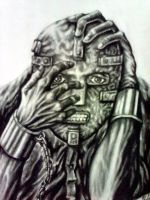 Man in the iron mask by Souravmad