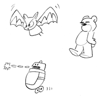 Kid Radd enemy concepts by tymime