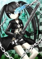 Black Rock Shooter by Kamaniki