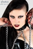Vipers Doll Portrait by AmatorisLatexCouture