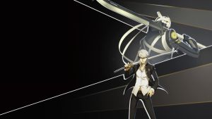 Yu Narukami and Izanagi Wallpaper 1080p by blubxer