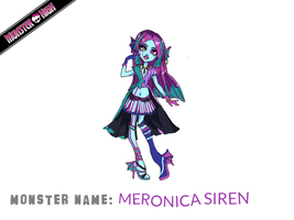 Monster High Contest: Meronica Siren by gtxoxo