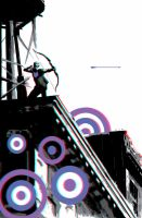 Hawkeye by David Aja in 3D Anaglyph by xmancyclops