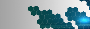 Hexagonal 3840 x 1080 by MarkWester