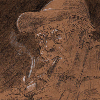 Old smoker by gaika89