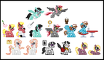 Commission Sprite Sheet #1 by 8-BitBrony