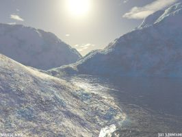 Icey Mountains by insaneisenough