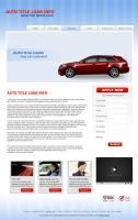 Auto title Landing Page Design by mycreativework