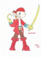 Red Roger rough draft 1 by BillyBones0704