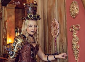 Steampunk Shoot by Barbie-Auth