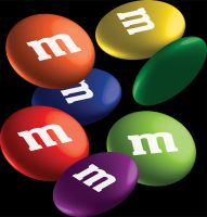 3D M and M Candy by mythicdragon30