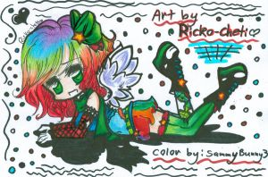 Colored RickoChett by NannaDoodles