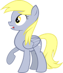 Derpy Shocked Vector by Dashin-Stallion