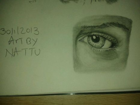 Studying Eye Details by Artsouls143