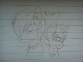 .:[DOODLE]HAZEL BISHOP AND PIANO DUNHAM:. by Maniactheleader