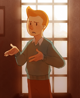 Tintin by rollingrabbit