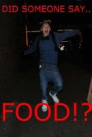 Niall... and... food by LulithaBrito