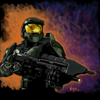 Master Chief by Darksun75