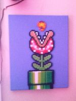 Piranha Plant from Mario Beads by coldplay3277