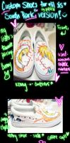 Custom South Park Shoes by erica-kun