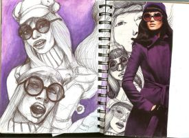 Graphic Diary- Purple by Moruto