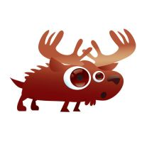 norbert the moose by catOutOfHell