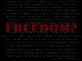 Freedom? by StandUpFightBack